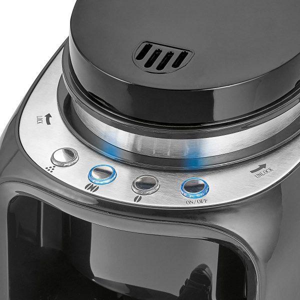 Gumbi na aparatu za kavo Clatronic z mlinčkom Ka 3701