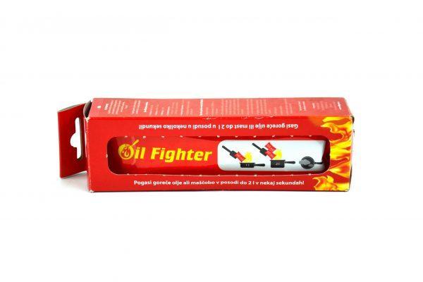 Vrečka za gašenje gorečega olja ali maščobe