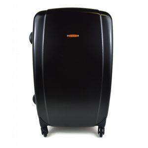 potovalni kovcek crne barve spredaj valise olivier strelli