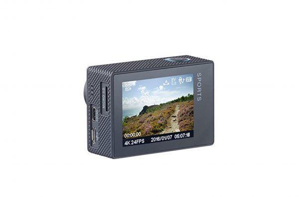 Športna kamera Somikon Actioncam 4K zadaj