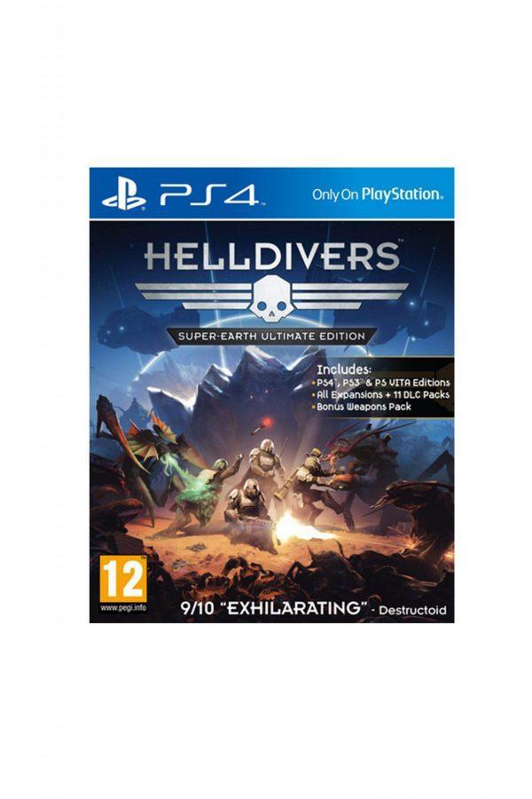 helldivers super-earth ultimate edition igra za ps4