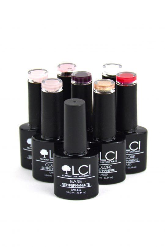 LCI komplet za nohte 7 barv barve