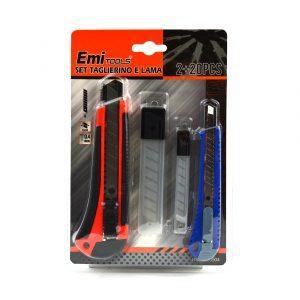 Olfa nož Emi 2+20 modr