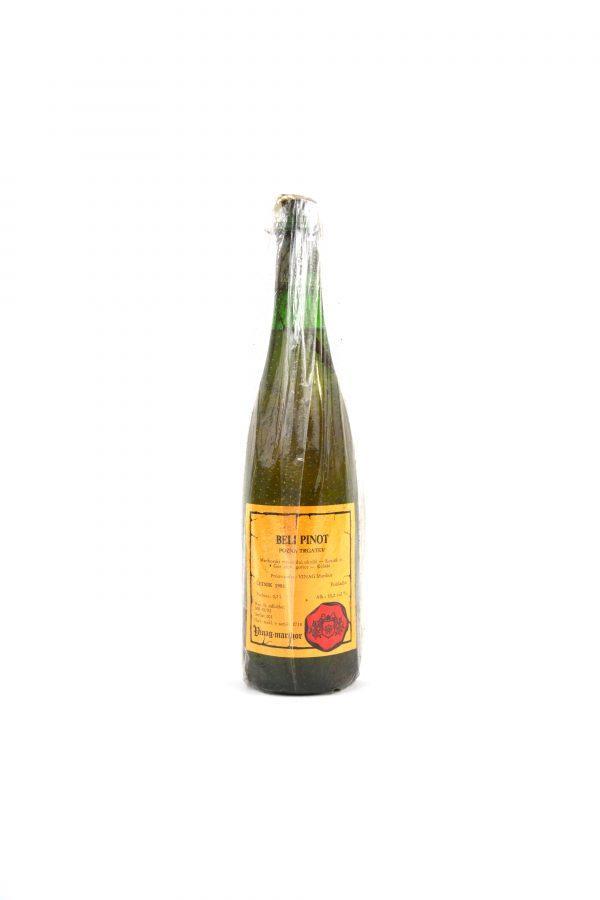 Beli Pinot Mariborski vinorodni okoliš letnik 1981 Vinag