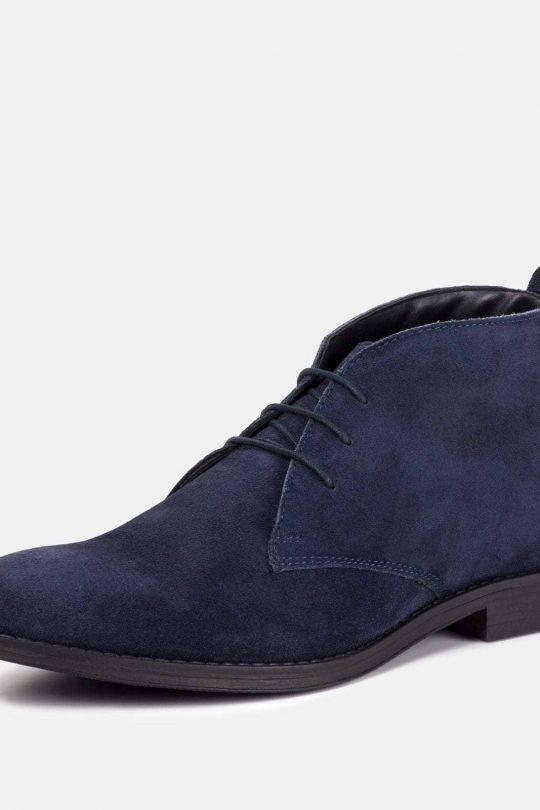 DERRY škornji mornarske barve