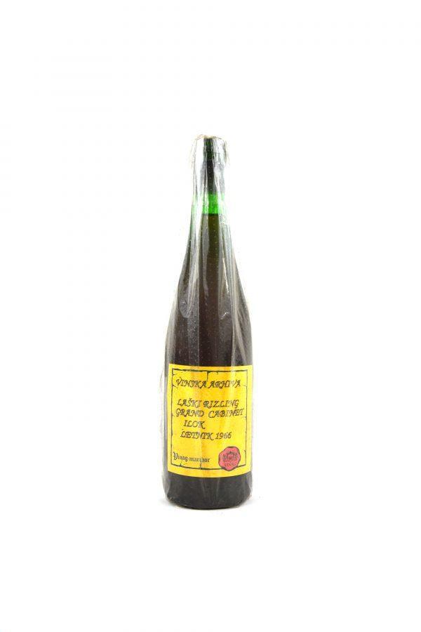 Grand Kabinet Laški Rizling Ilok letnik 1966 Vinag 198€