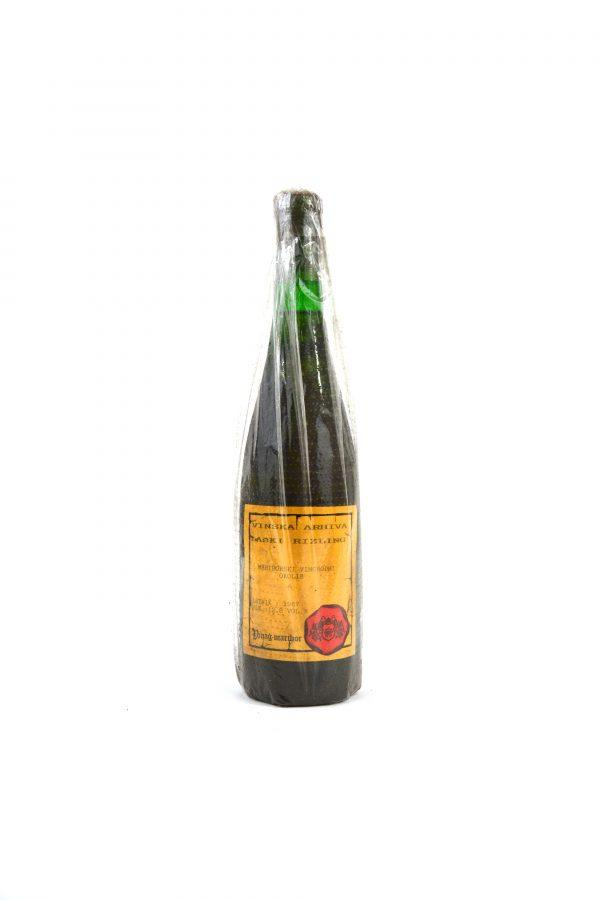 Laški Rizling Mariborski vinorodni okoliš letnik 1967 Vinag 190€